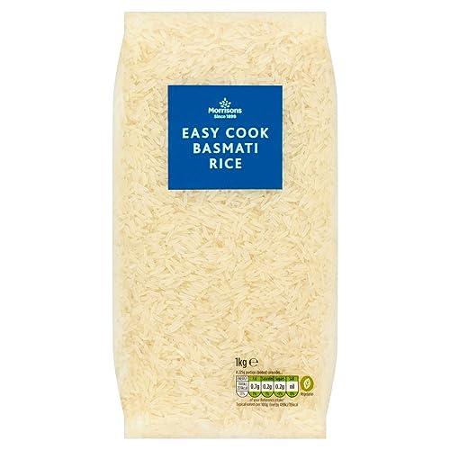 Morrisons Easy Cook Basmati Rice, 1kg