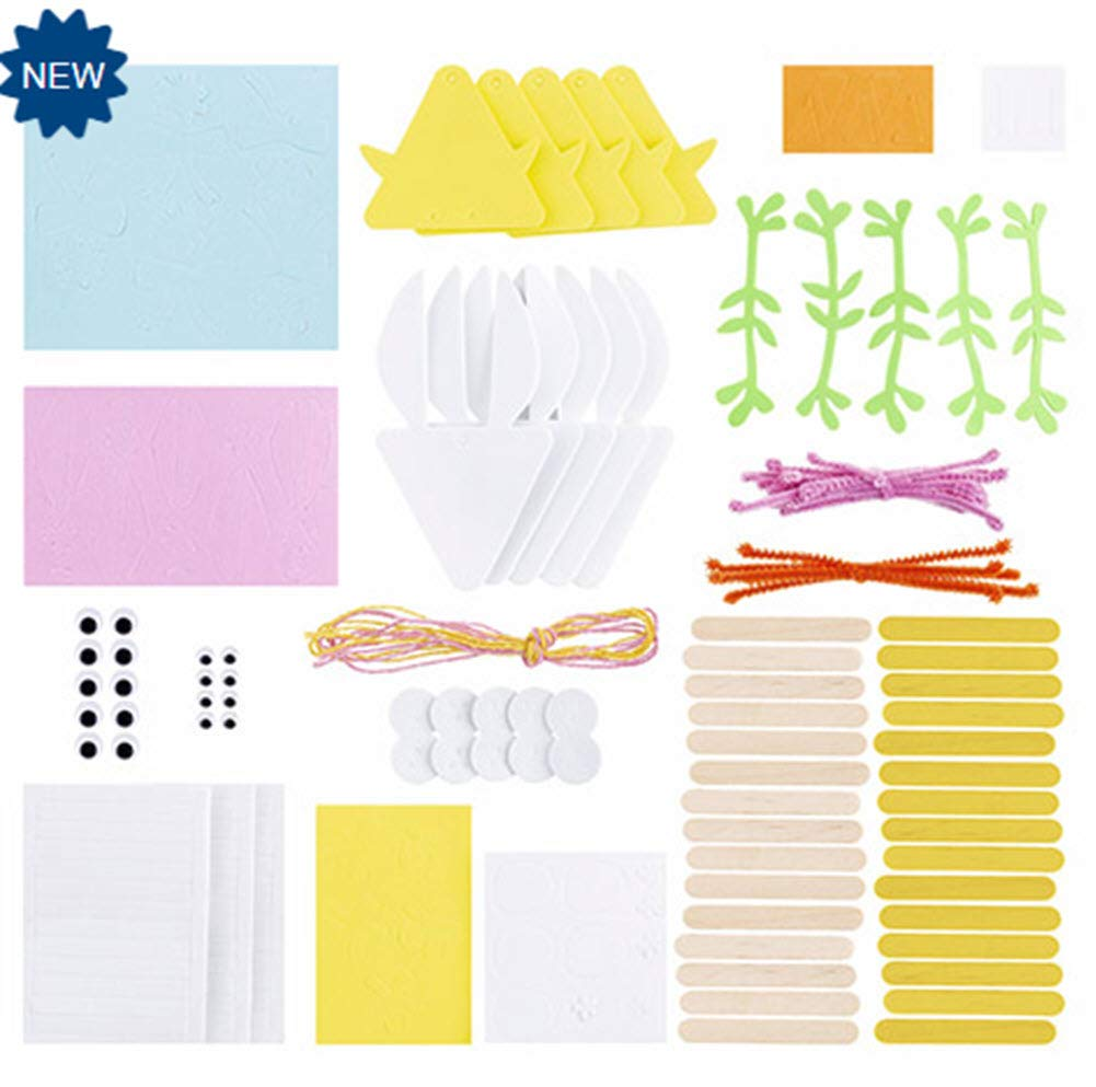 Makes 10 Fomies FOAMIES Bunny /& Chick Popsicle Kit
