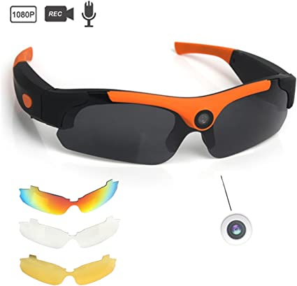 32GB Voll HD 1080P Mini DVR Kamera Sonnenbrille Brille Eyewear Videorecorder