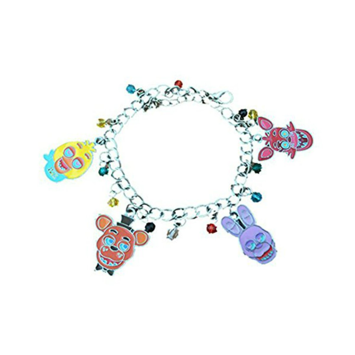 US FAMILY Five Nights at Freddy's FNAF Game Theme Multi Charms Jewelry Bracelets Charm by Family Brands