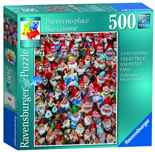 Ravensburger There's No Place Like Gnome Puzzle 500 Piece Puzzle