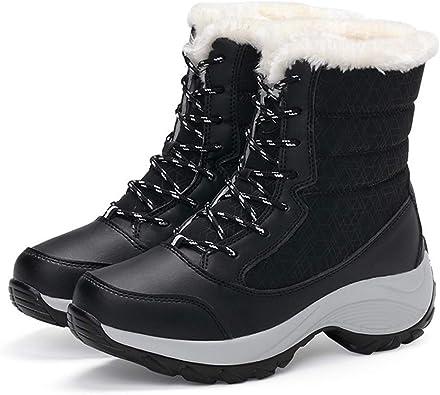 Xiakolaka Women Winter Boots Waterproof