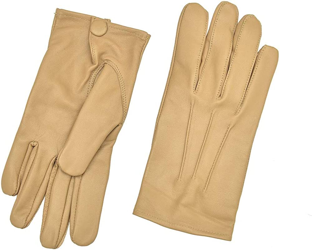 1920s Mens Accessories: Gloves, Spats, Pocket Watch, Collar Bar Mens Dress Leather Gloves $25.00 AT vintagedancer.com