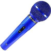 Microfone com Fio Azul Profissional MC-200 P10 - Leson 2AM00200A
