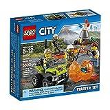 LEGO City-Volcano Explorers 60120 Volcano Starter Set Building Kit (83-Piece)