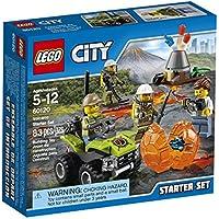 LEGO City Volcano Explorers 60120 Volcano Starter Set...
