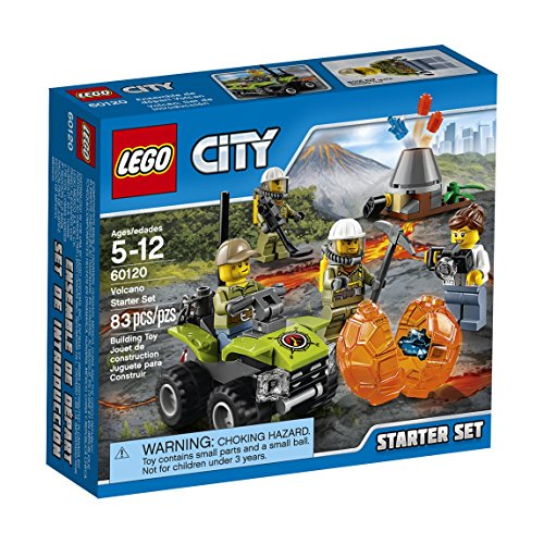 LEGO City Volcano Explorers Volcano Starter Set