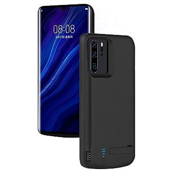 HQXHB Funda Batería para Huawei P30 Pro , 5000mAh Funda Cargador Portatil Batería Externa Ultra Carcasa Batería Recargable Power Bank Case para ...