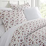 Becky Cameron Blossoms Patterned Duvet Cover Set, King, Pink