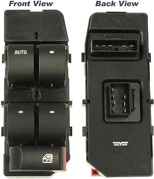 Amazon Com Apdty 012104 Master Power Window Switch Fits Front Left Driver Side 2005 2010 Chevrolet Cobalt 2007 2001 Pontiac G5 Replaces 20814454 22721760 Automotive