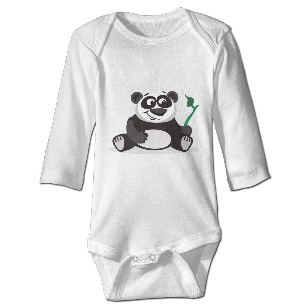 Midbeauty Panda Love Bamboo Newborn Cotton Jumpsuit Romper Bodysuit Onesies Infant Boy Girl Clothes