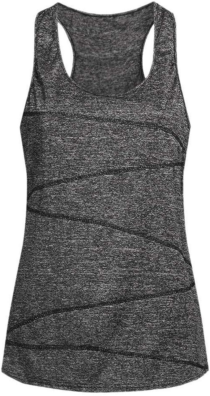 MOQIVGI Womens Workout Tank Tops Sleeveless Activewear Yoga Gym Sports Shirts