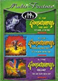 R.L. STINE GOOSEBUMPS includes SCARY HOUSE, SHOCKER ON SHOCK STREET, and THIS TOY PLAYS WITH YOU (3 DISCS)