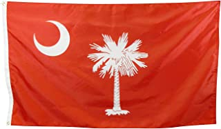 product image for 3x5' Historic Big Red Citadel South Carolina Flag - Durable All-Weather Nylon, Reinforced Fly End Stitching, Proudly Made in The USA