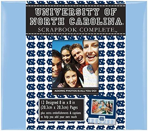 C.R. Gibson Scrapbook Complete Kit, Small, North Carolina Tar Heels (C848146M) (College Tickets Football Games)