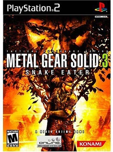 Metal Gear Solid 3 Snake Eater - PlayStation 2: Artist     - Amazon com