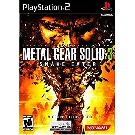 Amazon.com: Metal Gear Solid 3 Snake Eater - PlayStation 2: Artist Not  Provided: Video Games