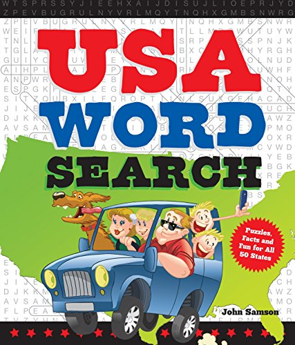 (USA Word Search: Puzzles, Facts, and Fun for 50 States)