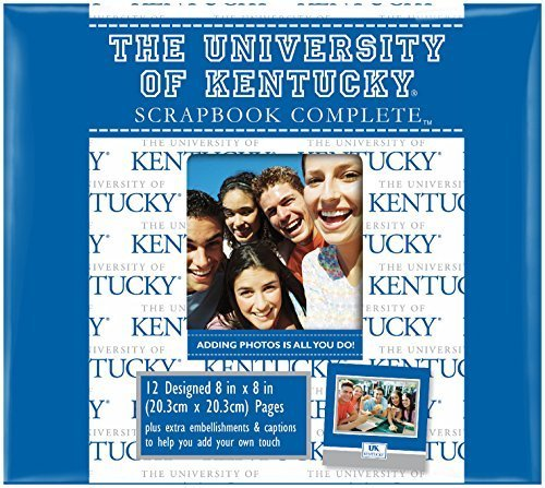 C.R. Gibson Scrapbook Complete Kit, Small, Kentucky Wildcats (C844926M) by C.R. ()