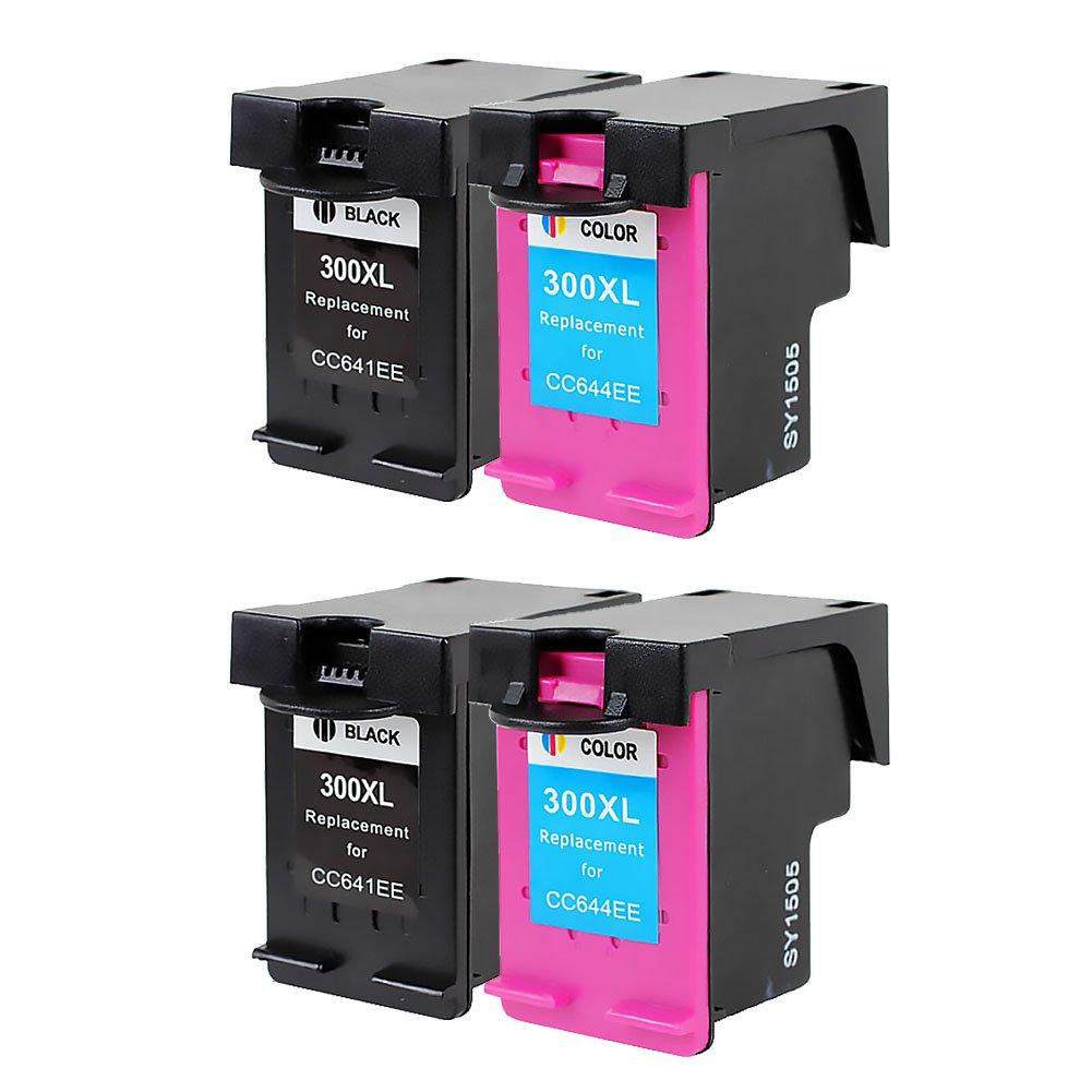 Bosumon Compatible para HP 300 XL Cartuchos de tinta Compatiable ...