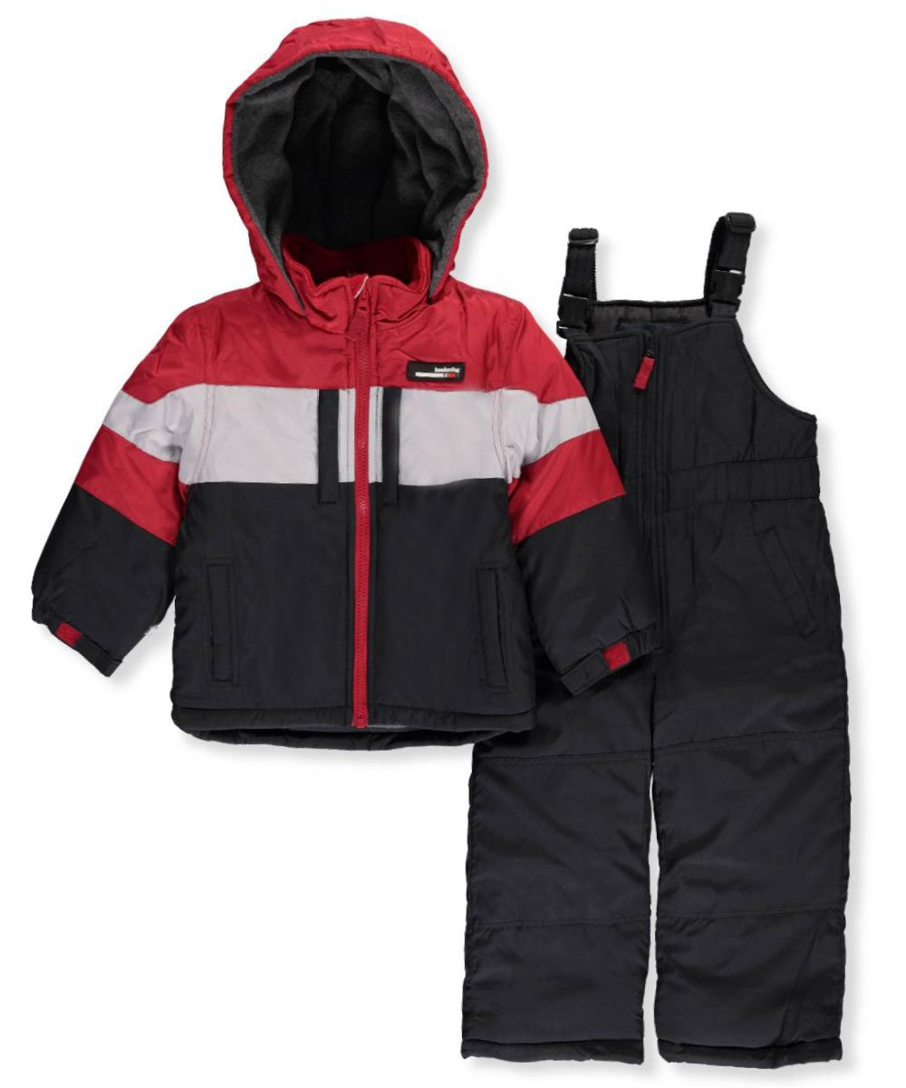 London Fog Boys' 2-Piece Snow Bib and Jacket Snowsuit
