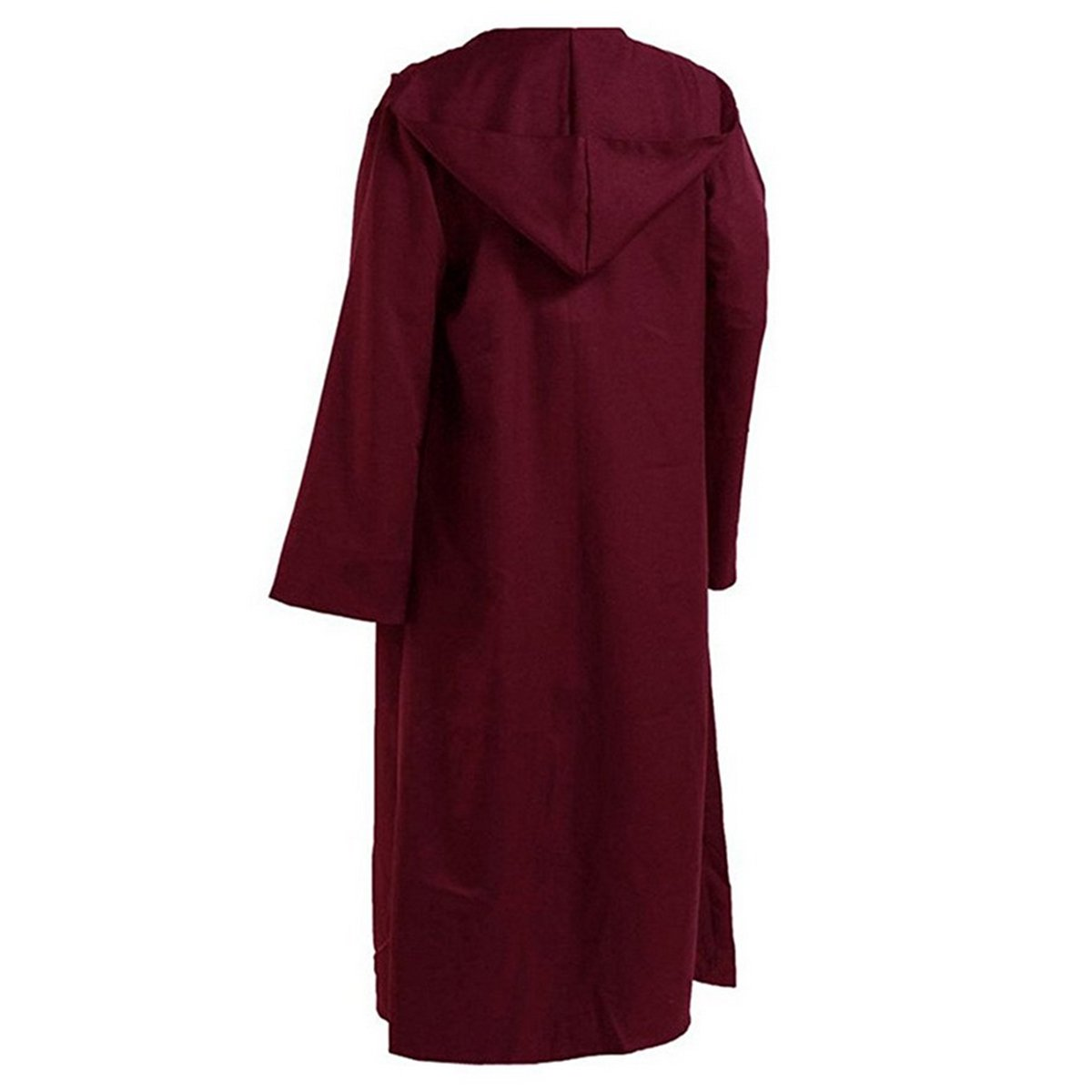 WESTLINK Hooded Robe Cloak Knight Cosplay Costume Cape - New Version - Bigger Cape (Double Cloth) with Strings CEOAMZUSMCUS_MC-991