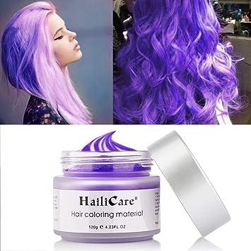Hailicare 120g Lila Haarwachs Manner Und Frauen Professionelle Haar