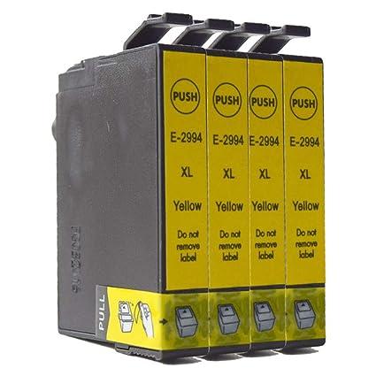 Teng® - Cartuchos de Tinta para Epson Expression Home XP-255 XP ...