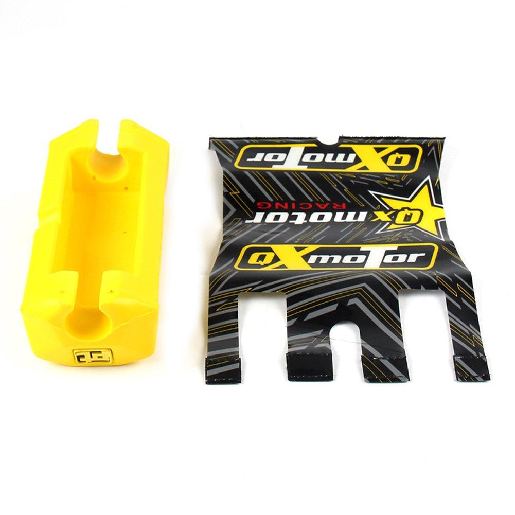 Square 2.0 1 1//8 Motorcycle Handlebar Fat Bar Pad For CRF RMZ KTM YZF KAYO BSE ATV Dirt Pit Bike Motocross Enduro JXMOTO orange