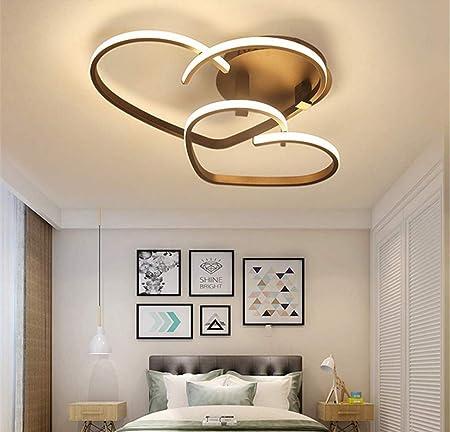 whl deckenleuchte led schlafzimmerleuchte dimmbar modern deckenlampe chic liebe design kronleuchter mit fernbedienung acryl schirm kinderzimmer