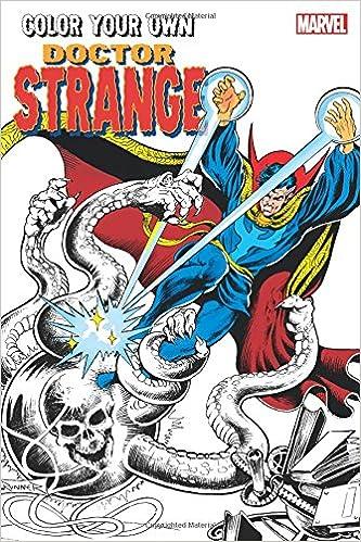 Color Your Own Doctor Strange Steve Ditko Frank Brunner Chris Bachalo 9781302901608 Amazon Books