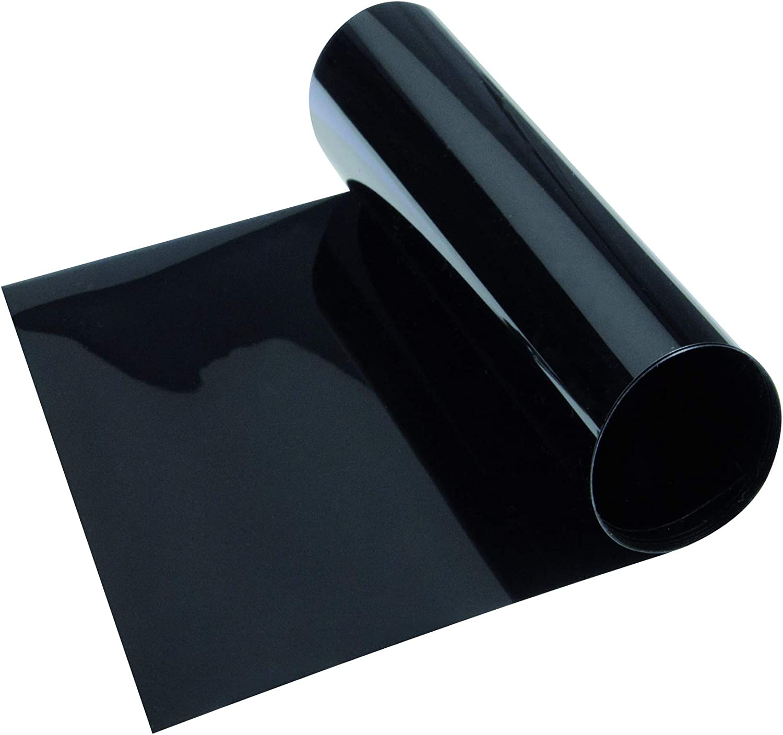 Black To Clear Sun Visor Window Screen Windshield Film Tint Strip Protect Shade
