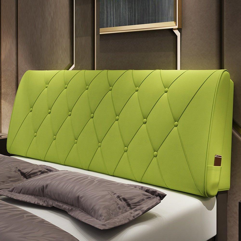QIANGDA クッション ベッドの背もたれ マットレス ヘッドボード PUバッククッション シングル/ダブル ベッドルーム 9ソリッドカラー、 5サイズ 利用可能 ( 色 : Olive green , サイズ さいず : 120 x 10 x 60cm ) B07B2FR5L2 120 x 10 x 60cm|Olive green Olive green 120 x 10 x 60cm