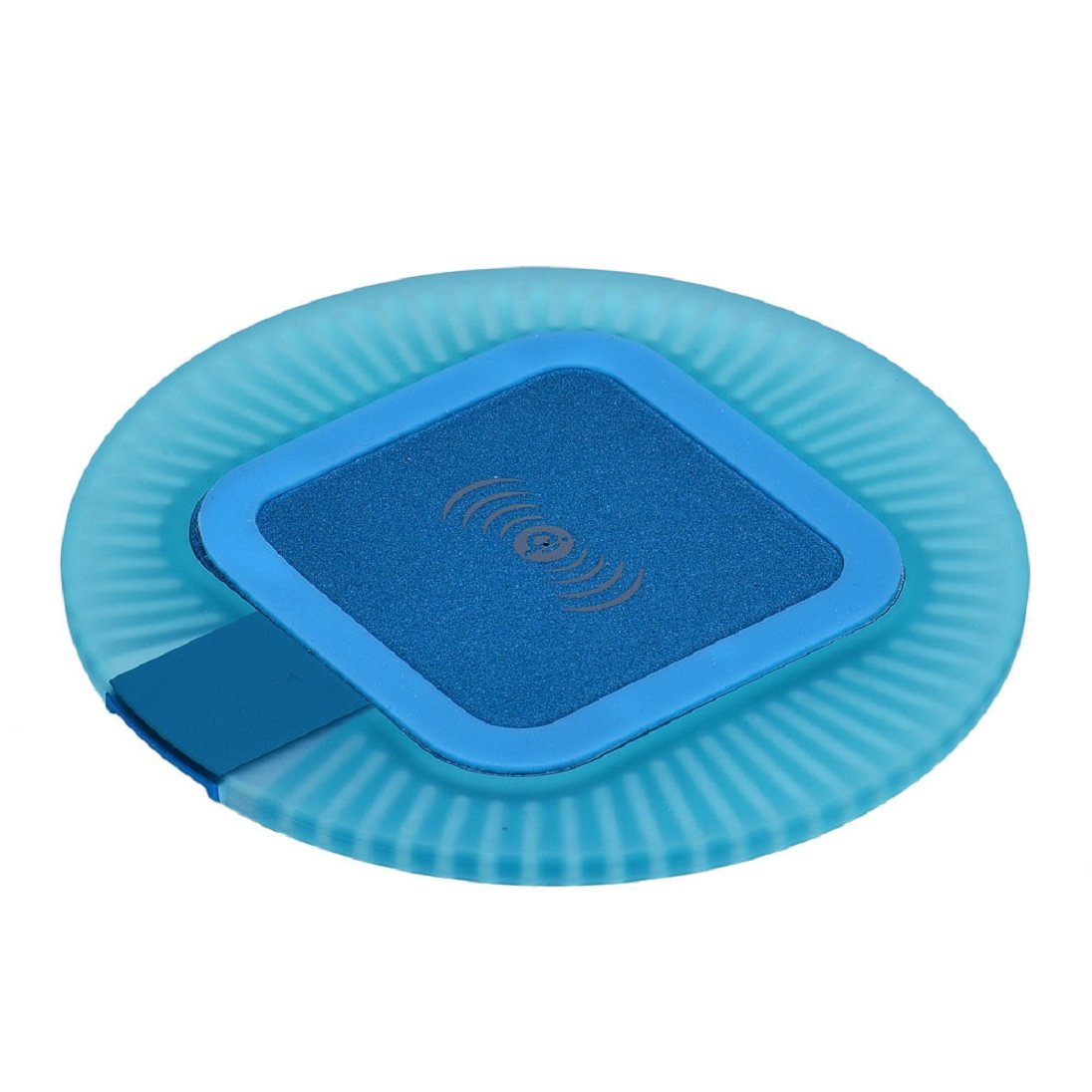 AutumnFall Qi Wireless Charger Charging Pad For Samsung Galaxy S6 / S6 Edge (Blue)