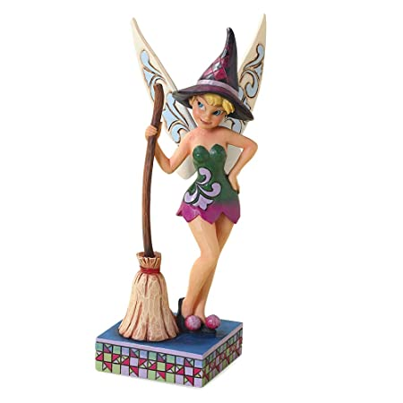 Enesco 4027943 Disney Traditions by Jim Shore Tinker Bell As Witch Figurine, 7-Inch