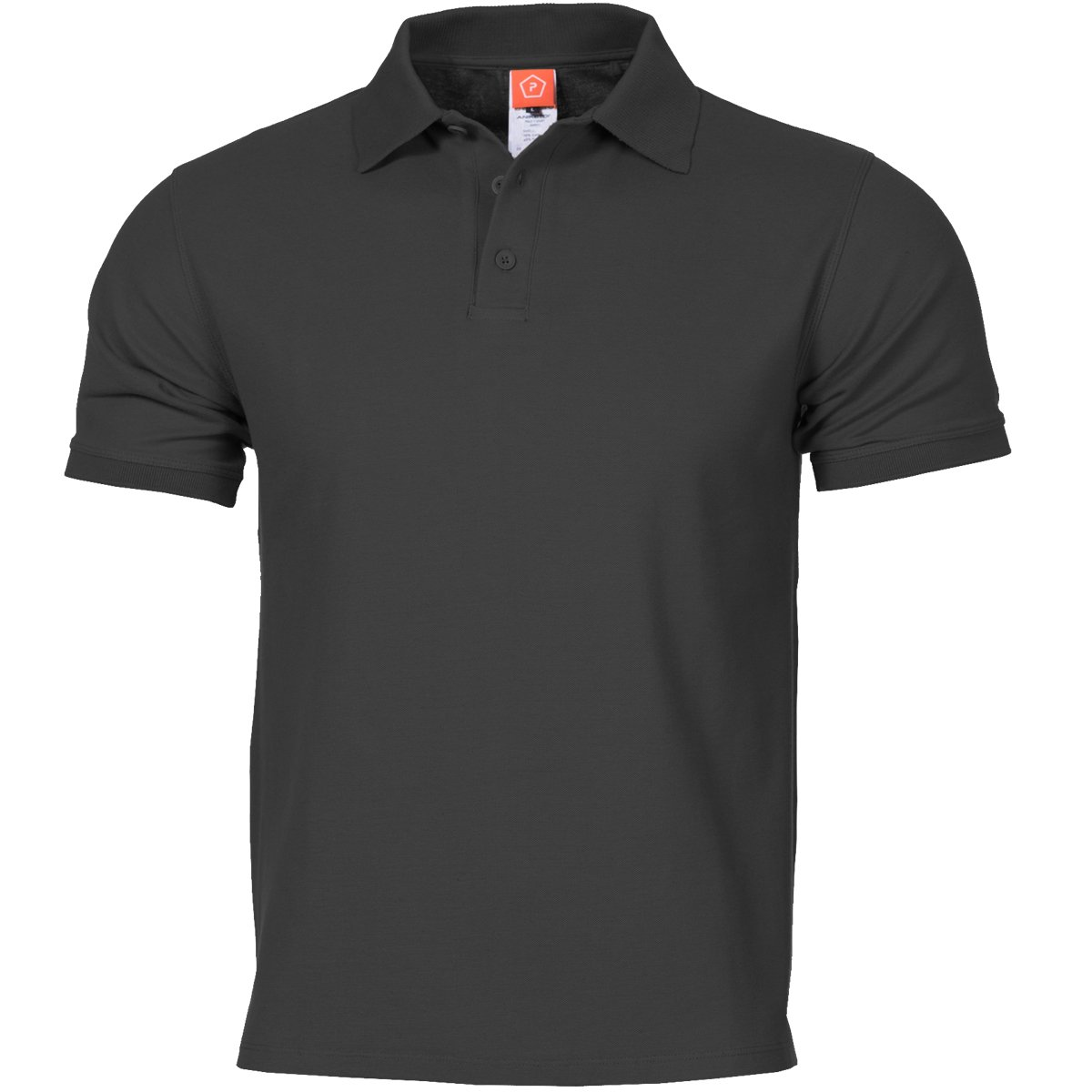 Pentagon Mens Aniketos Polo T-Shirt Black