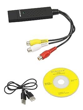 Captura Video y Audio Grabber USB CCTV para Notebook visión y grabación de cámaras al PC para Windows XP Vista 7 y 8 y Mac B7: Amazon.es: Electrónica