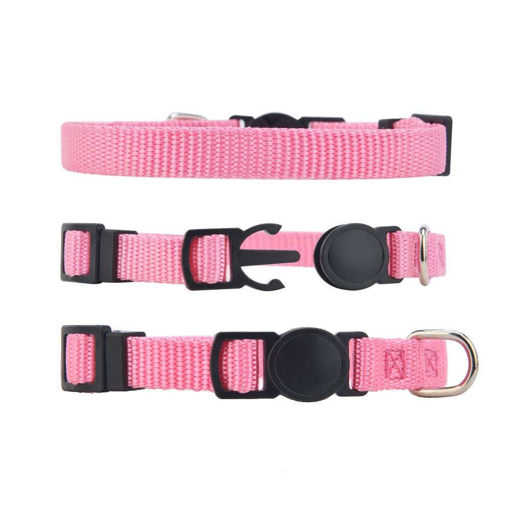 PUPTECK 12 pcs/set Soft Nylon Puppy ID Collar Adjustable Breakaway Whelping Litter Collars with Record Keeping Charts by PUPTECK (Image #5)
