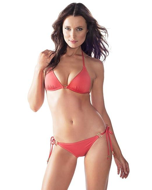 06903cb1335 Voda Swim Women s Envy Push up Hoop String Bikini Top  Amazon.ca  Clothing    Accessories