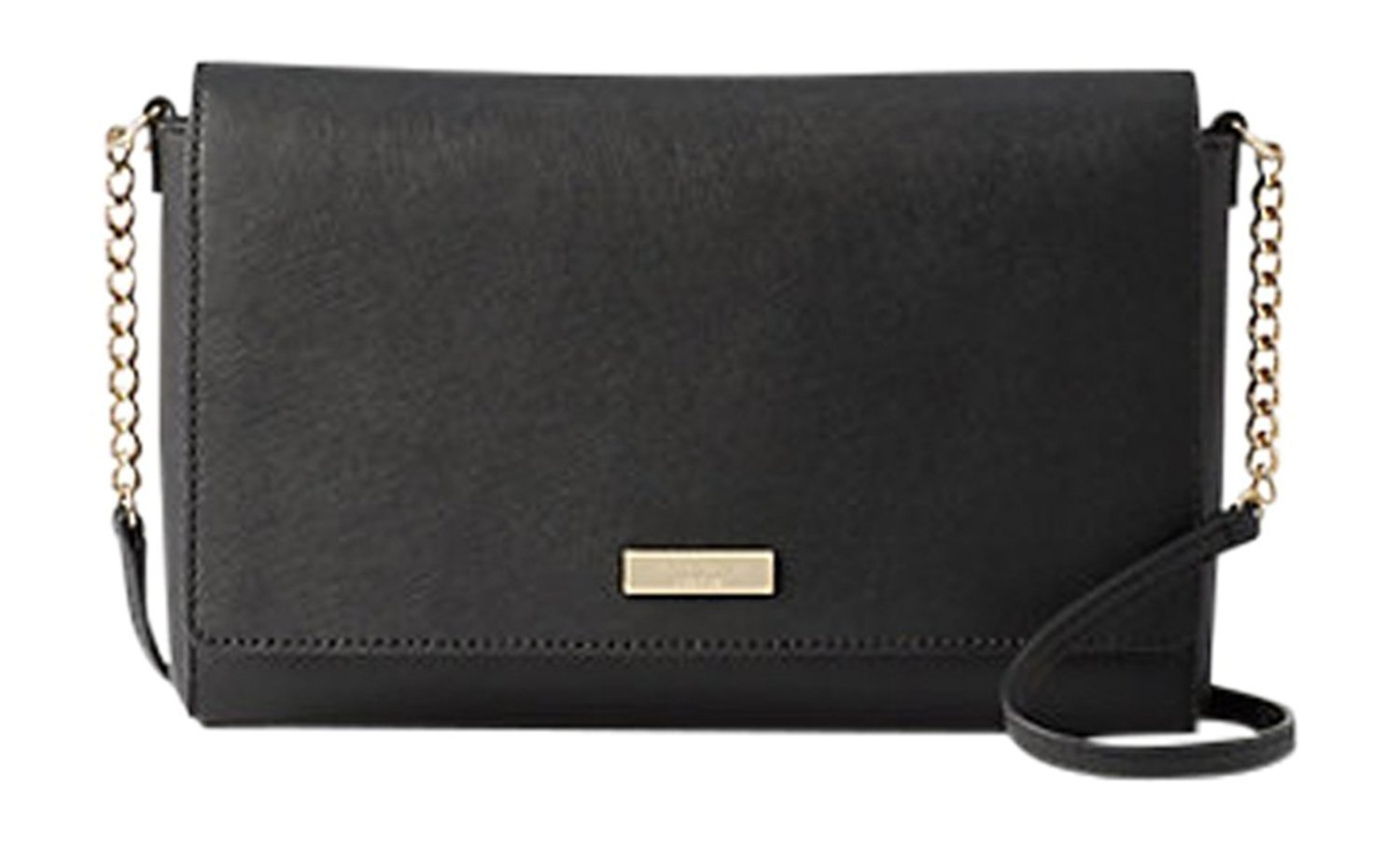 Kate Spade New York Tilden Place Alek Black Leather Crossbody handbag