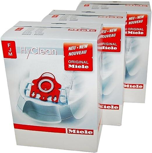 Miele FJM - Bolsas para aspiradoras Miele (3 packs completos): Amazon.es: Hogar