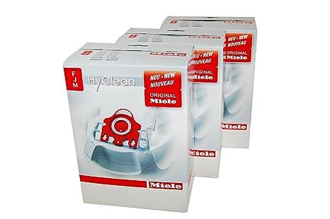 Miele FJM - Bolsas para aspiradoras Miele (3 packs completos ...