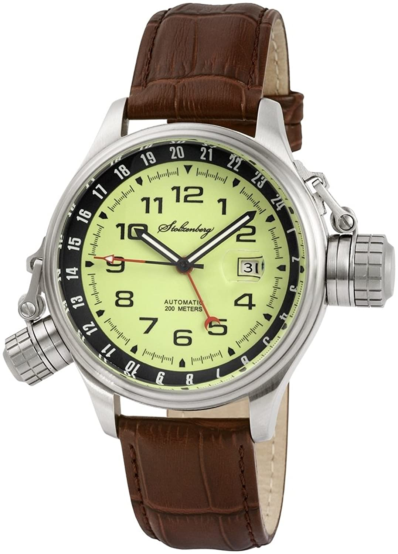 Stolzenberg Herren-Armbanduhr Analog Automatik ST2600290002