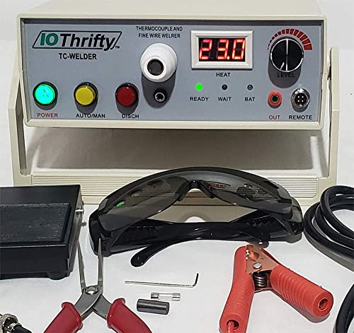 Thermocouple Welder – Complete Thermocouple Welding System, Operates from AC or Battery Power