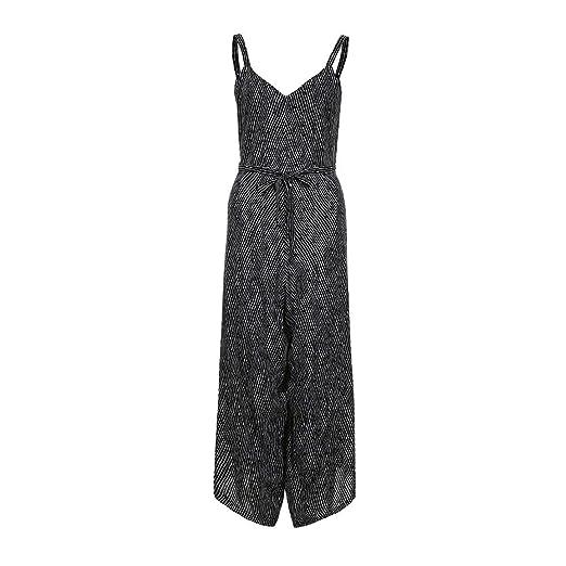 99e78ea638f9 Amazon.com  HOSOCHRIS Women Fashion Casual Formal Sexy Deep V-Neck Halter  Strappy Striped Print Party Elegant Jumpsuit  Clothing