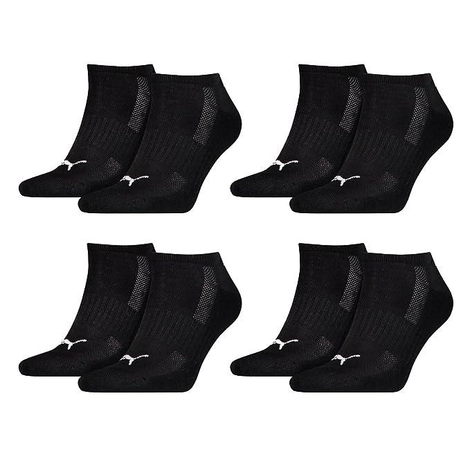 4 Paar Puma Quarter Socken Match Frottee 35-38 schwarz Unisex
