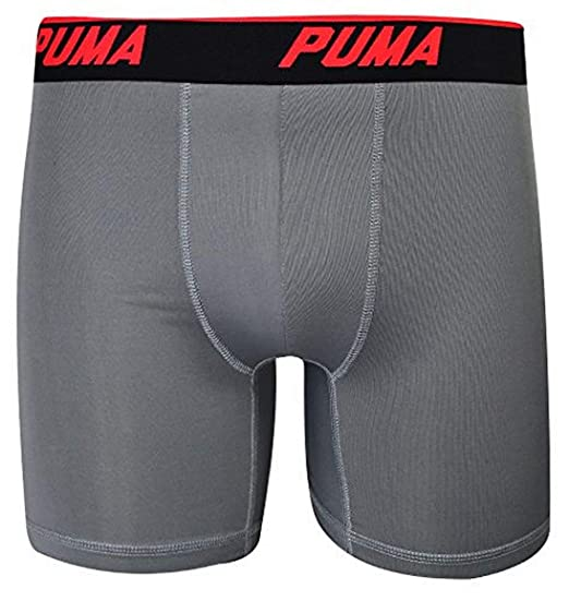 44b22bde9243 Image Unavailable. Image not available for. Color: PUMA Mens 3 Pack Tech  Boxer ...