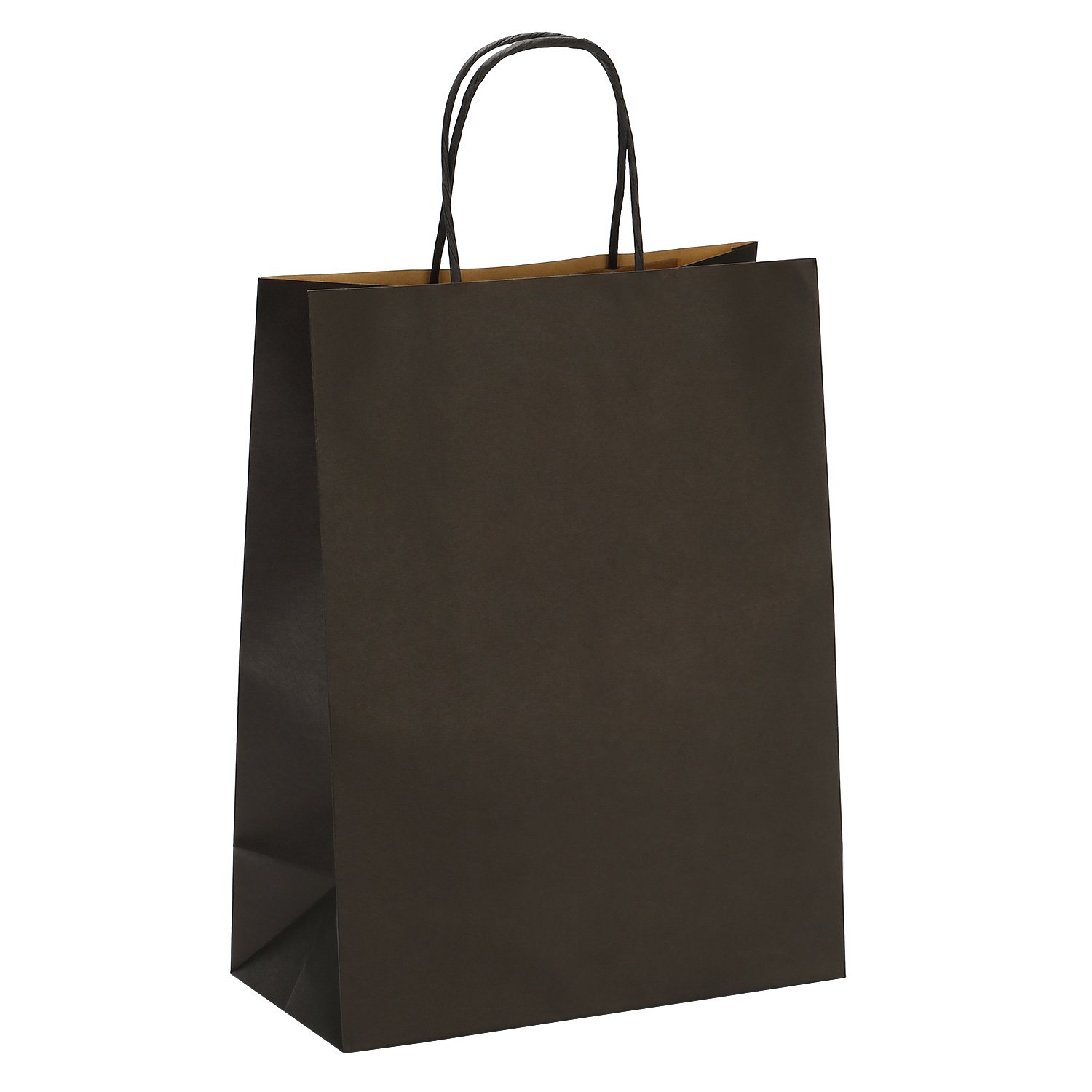 Amazon.com  Road 10x5x13 Inches 50pcs Black Kraft Paper Bags with Handle,  Gift , Shopping Bag, Merchandise , Party Bag  Health   Personal Care a89e3d87fe