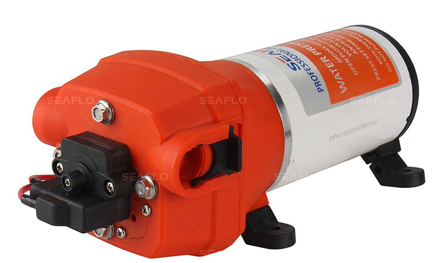 SEAFLO 41-Series Water Pressure Diaphragm Pump - 12v, 4.5GPM, 40PSI