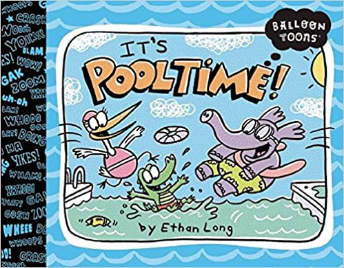 Book Balloon Toons: Pooltime